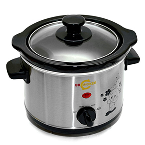 Nồi nấu cháo cho bé BBCooker 1.5L (Màu bạc)