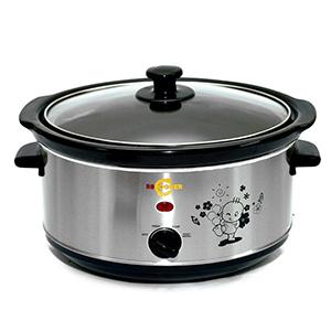 Nồi nấu cháo cho bé BBCooker 3.5L (Màu bạc)